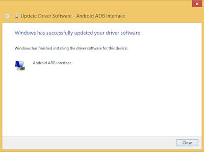 ADB Driver installed