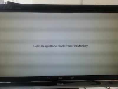 Hello Beaglebone Black